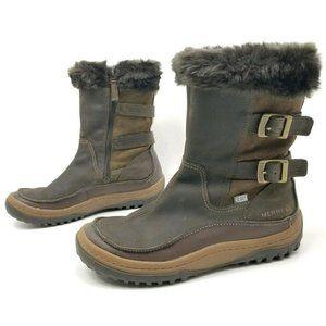 Merrell Womens 9.5 Decora Chant Waterproof Boots